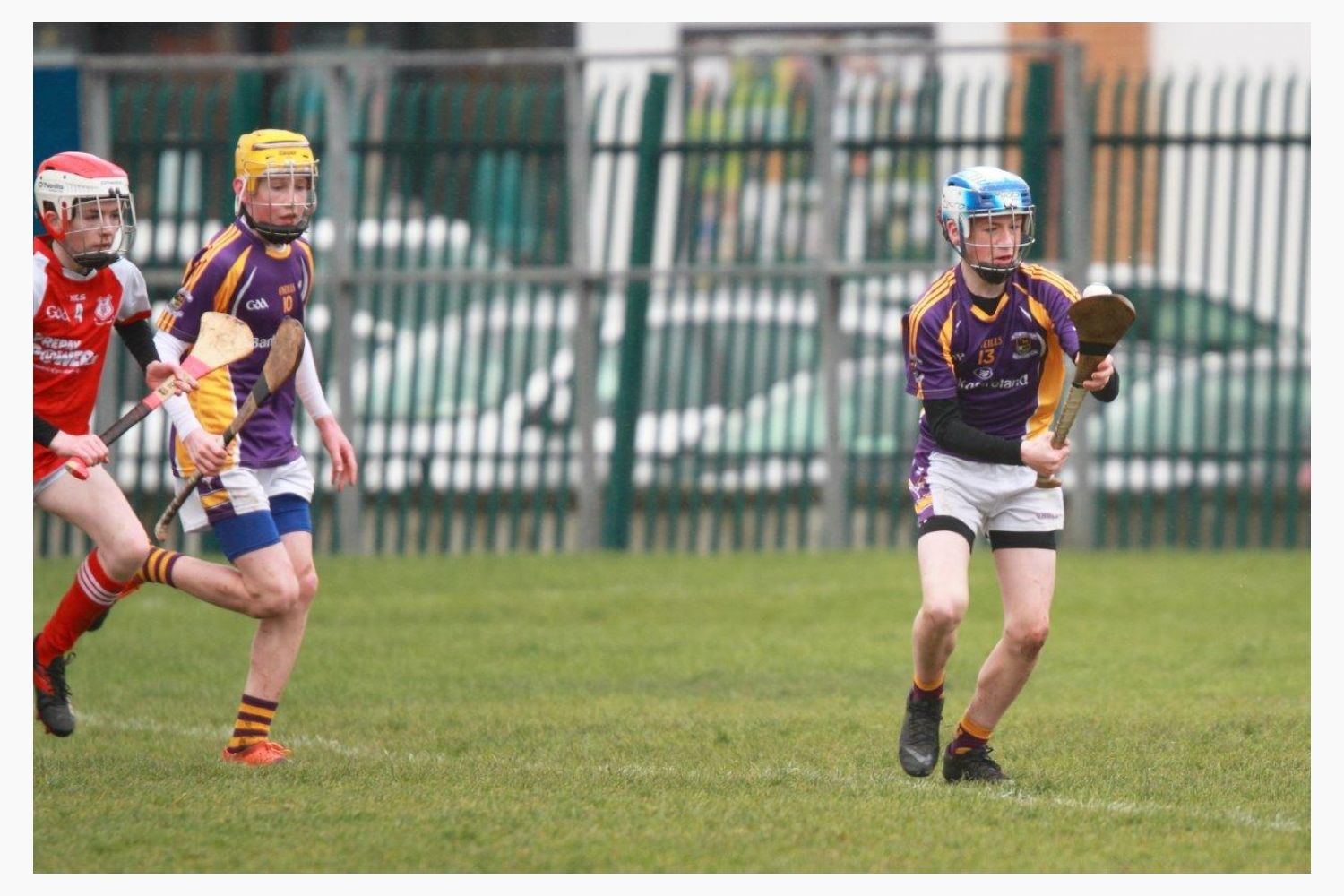 Strong performance against Cuala for U14A hurlers
