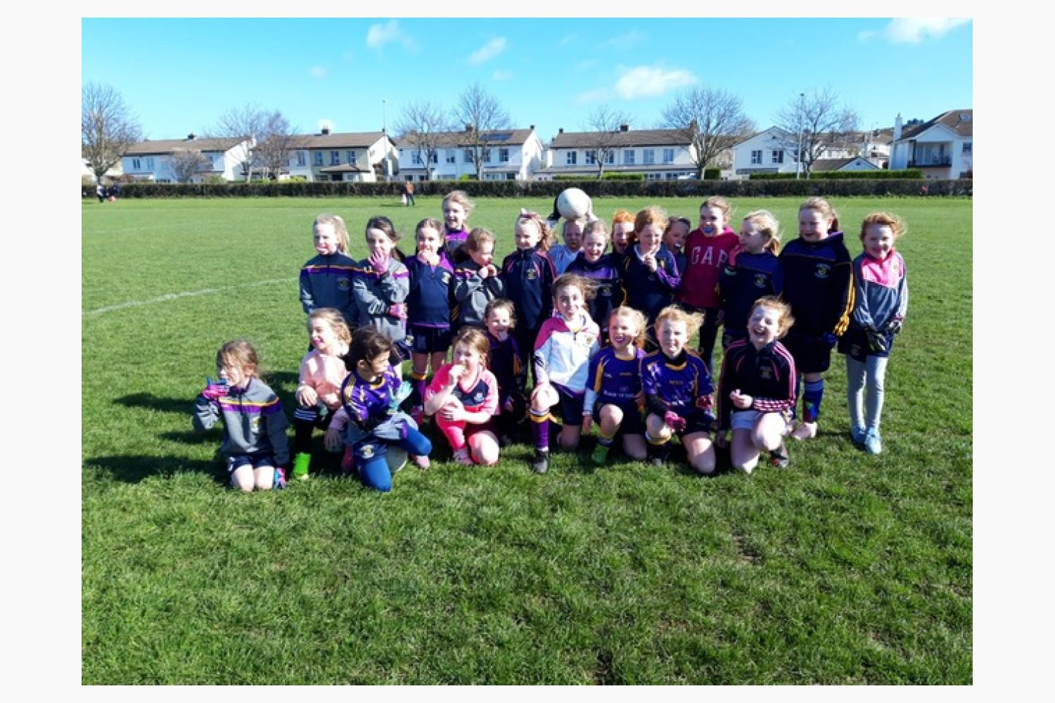 U'8's First Go Games