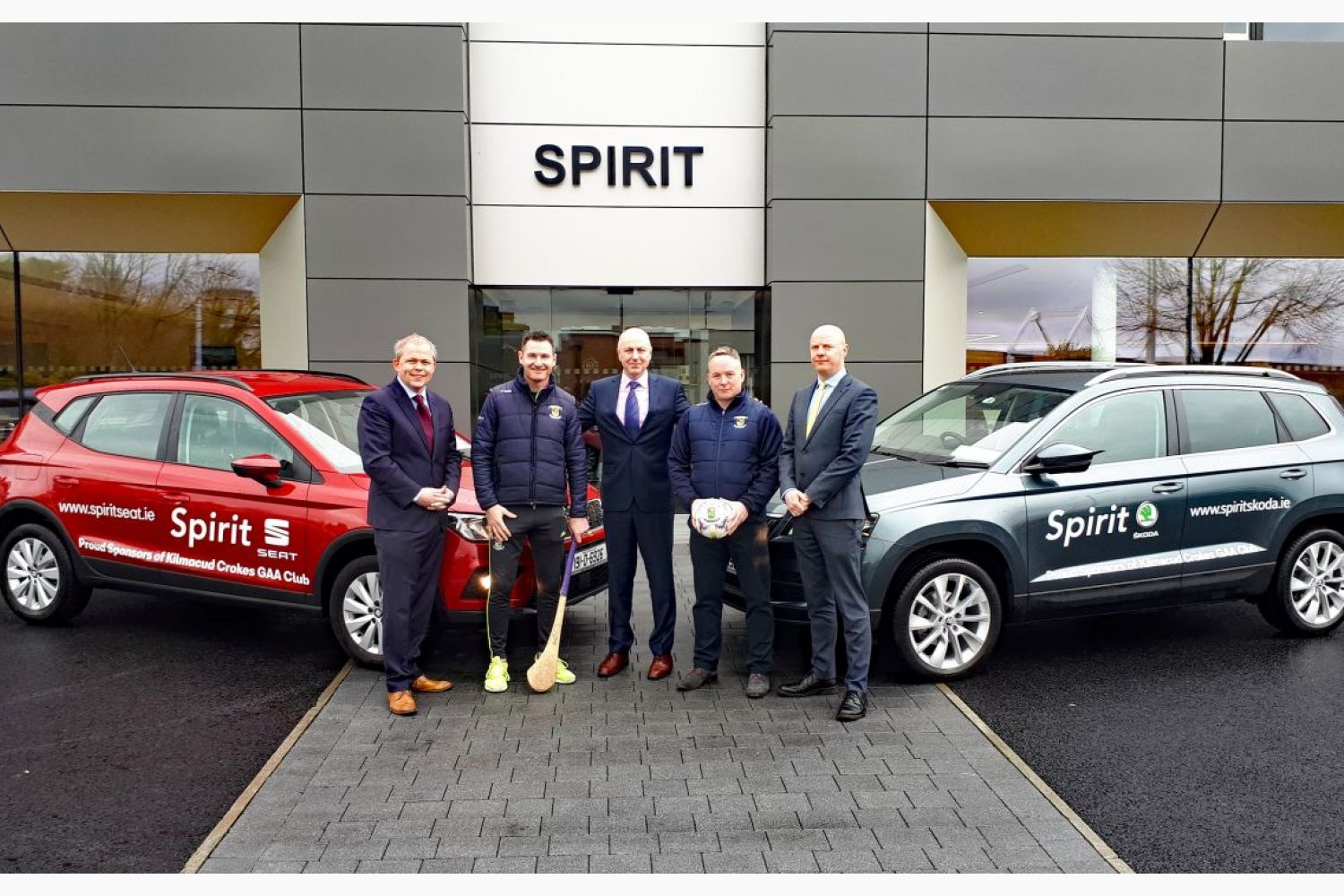 Spirit Motor Group Continued Support for Kilmacud Crokes