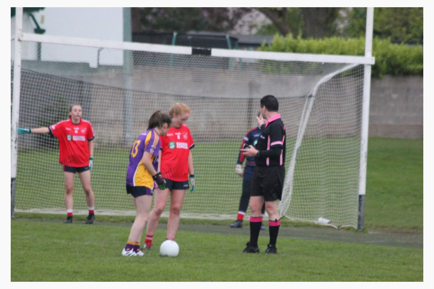 Ladies Senior Football Team secure win in Championship