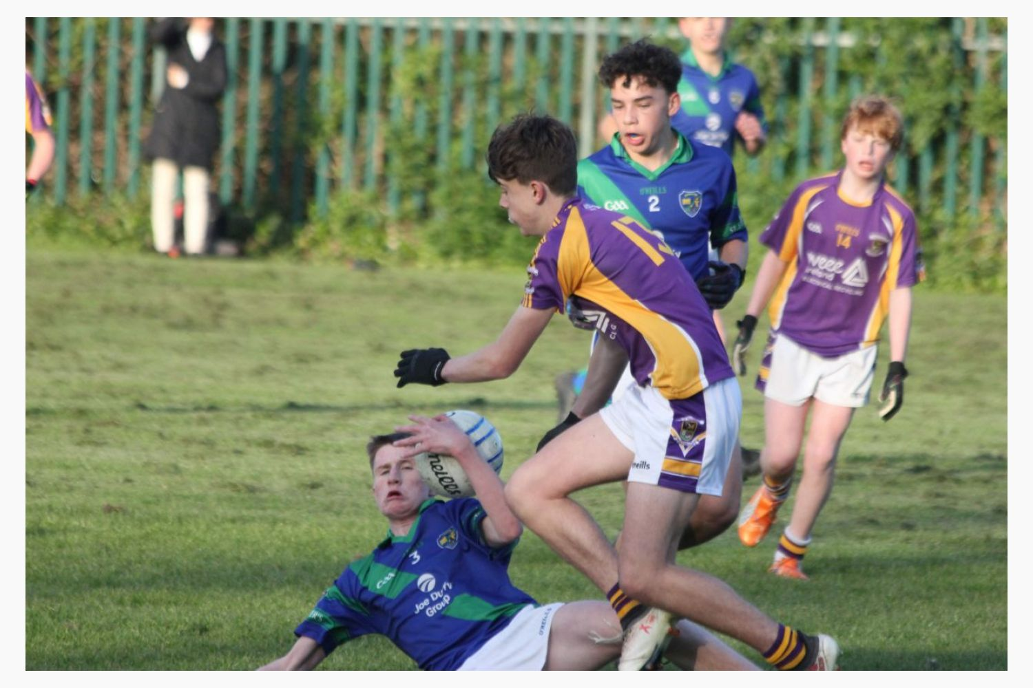 Kilmacud Crokes Under 15A Footballers Championship Semi Final Win