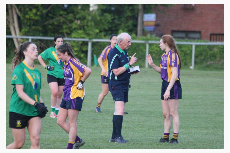 Good win for Ladies Senior Football team against Thomas Davis