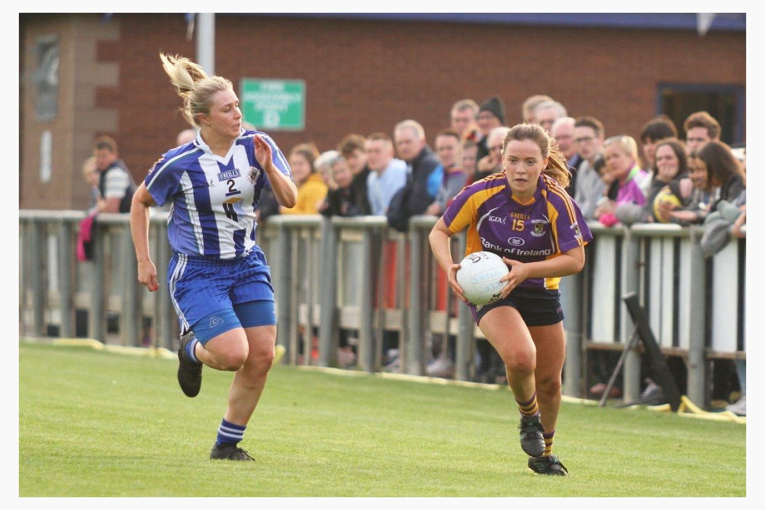 Ladies Senior Football Team top table in Championship