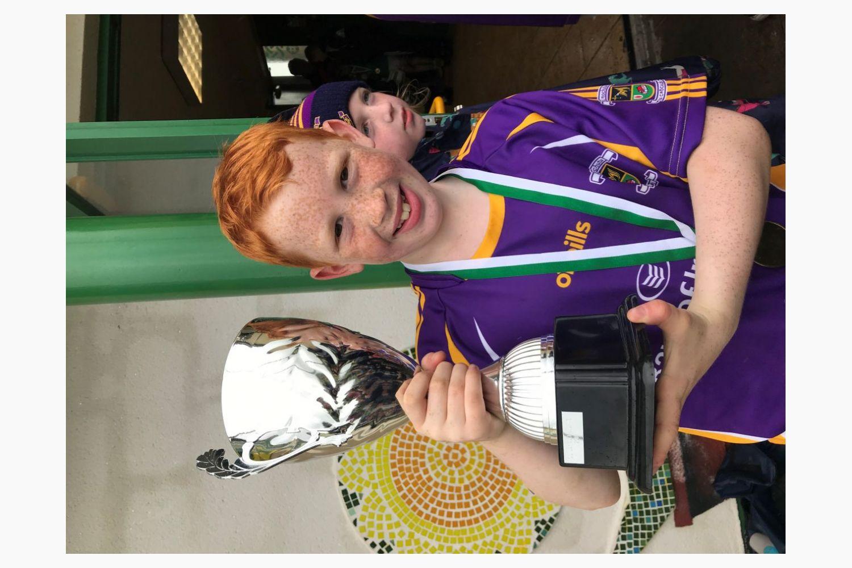 Kilmacud Crokes U10 Hurlers in Liatroim, Co. Down winning the Oisin Blaney Memorial Tournament
