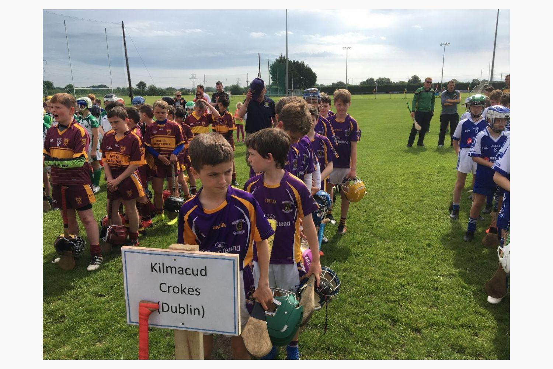 Kilmacud Crokes U11 Hurlers - Celbridge GAA U11 All Ireland Blitz 2019