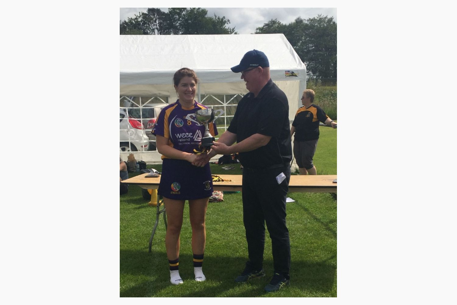 Camogie Girls Win Dunboyne 7's tournament