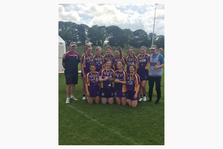 Camogie Girls Win Dunboyne 7's tournament