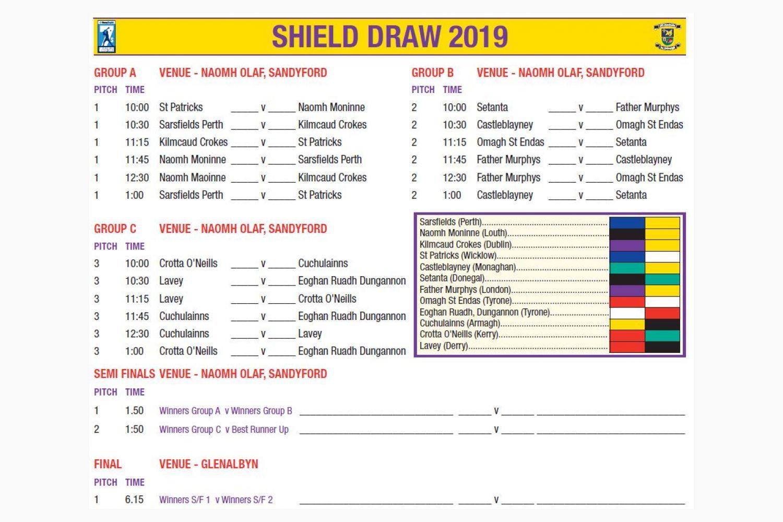 Shield Draw  -  Beacon Hospital All Ireland Sevens