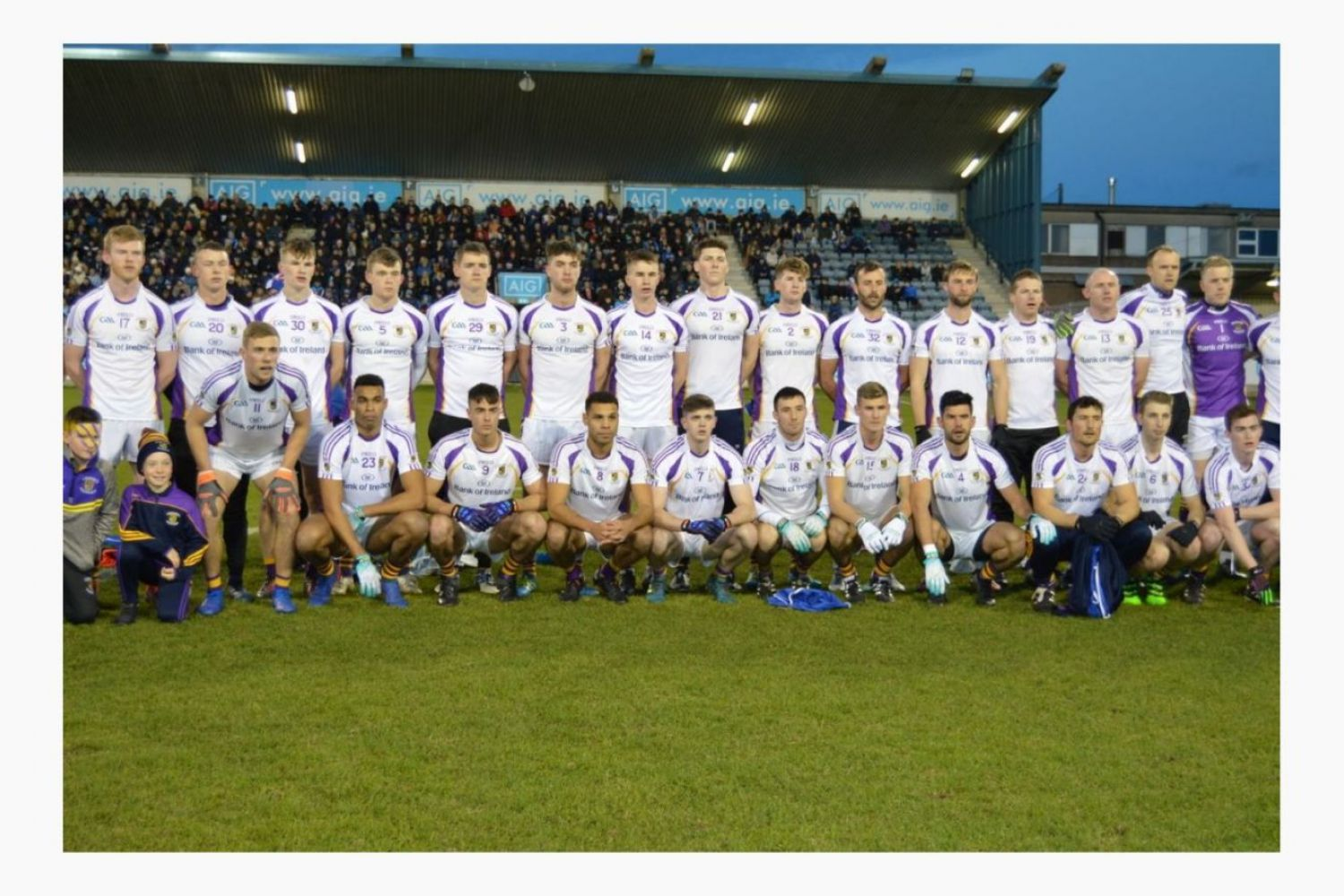 Senior Football - County Quarter Final - Sunday 13th October