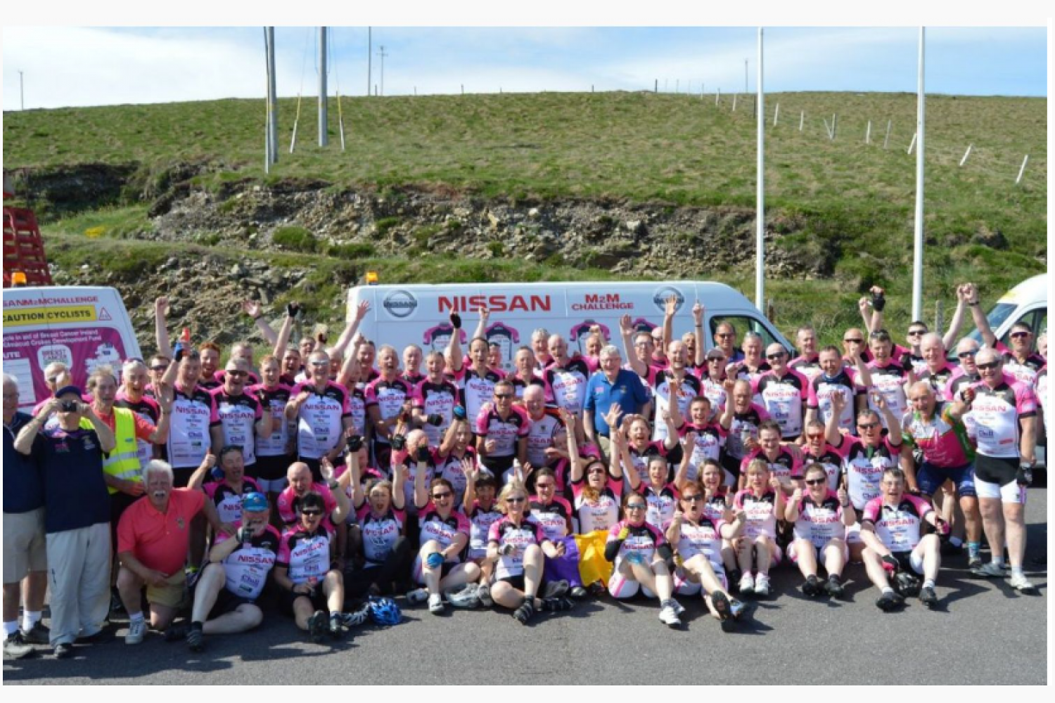 Kilmacud Crokes Nissan / BCI  Mizen to Malin Cycle Challange 2020