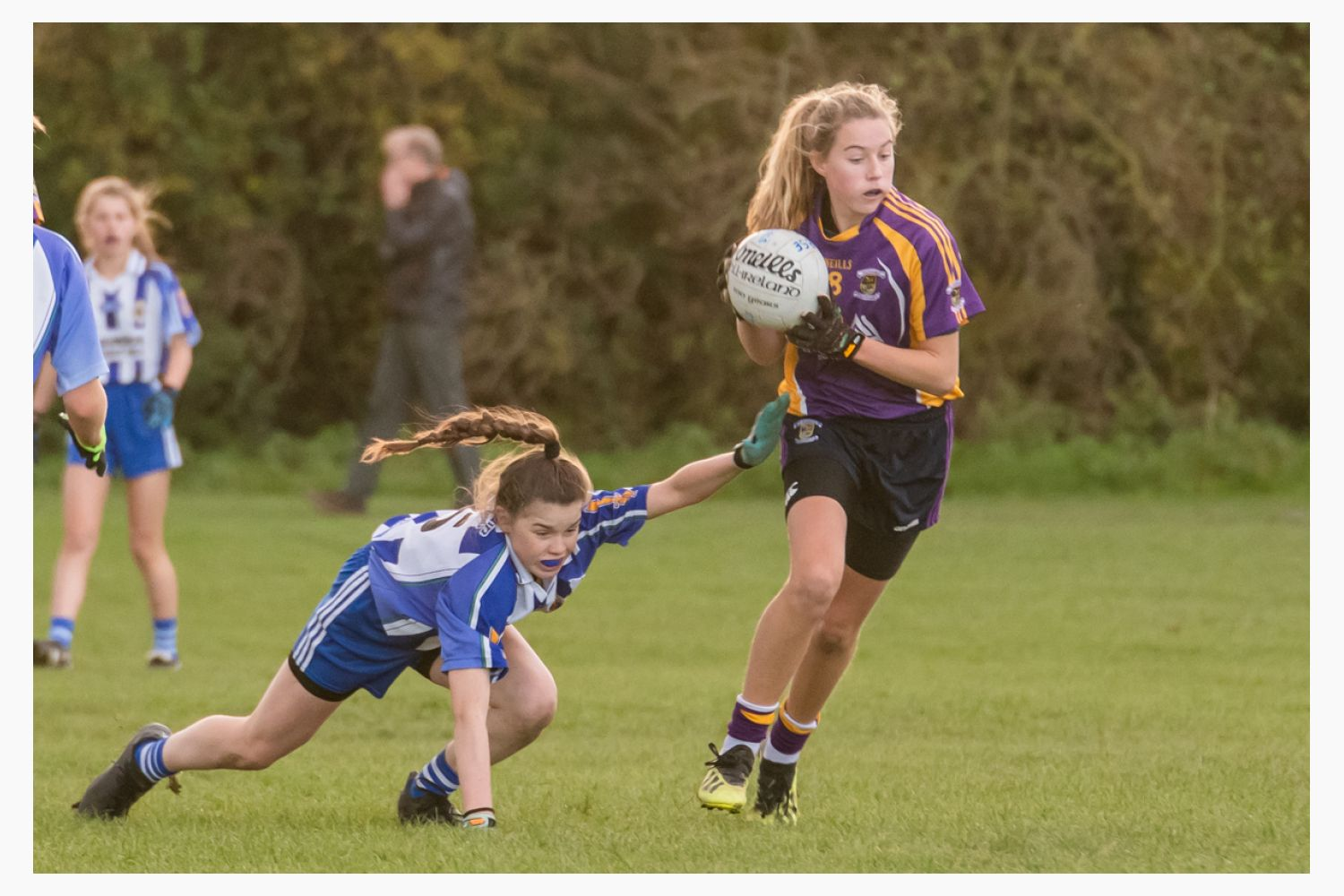 Kilmacud Crokes Under 13 Ladies Football Cup Final versus Ballyboden