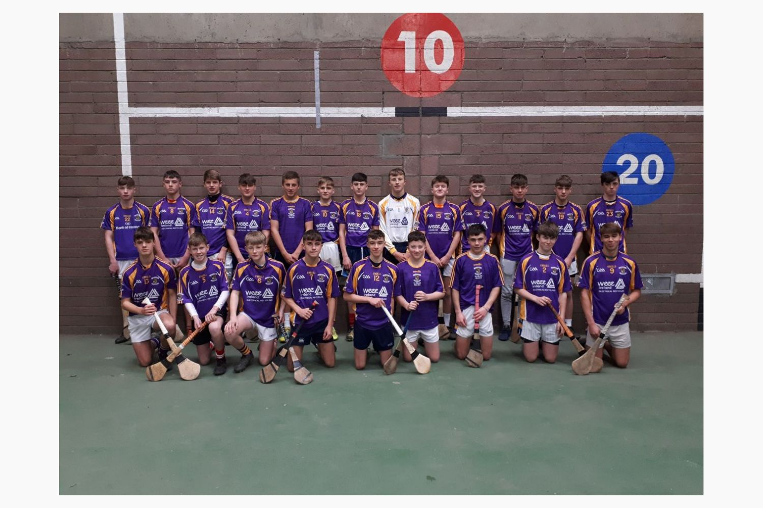 Kilmacud Crokes Under15A Hurlers in Championship Final Action Sun November 3rd  12.00 in St Peregrines, Blakestown Road