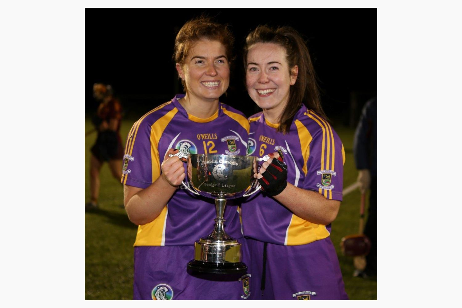 Senior Camogie Team win the Senior 2 County Championship Final