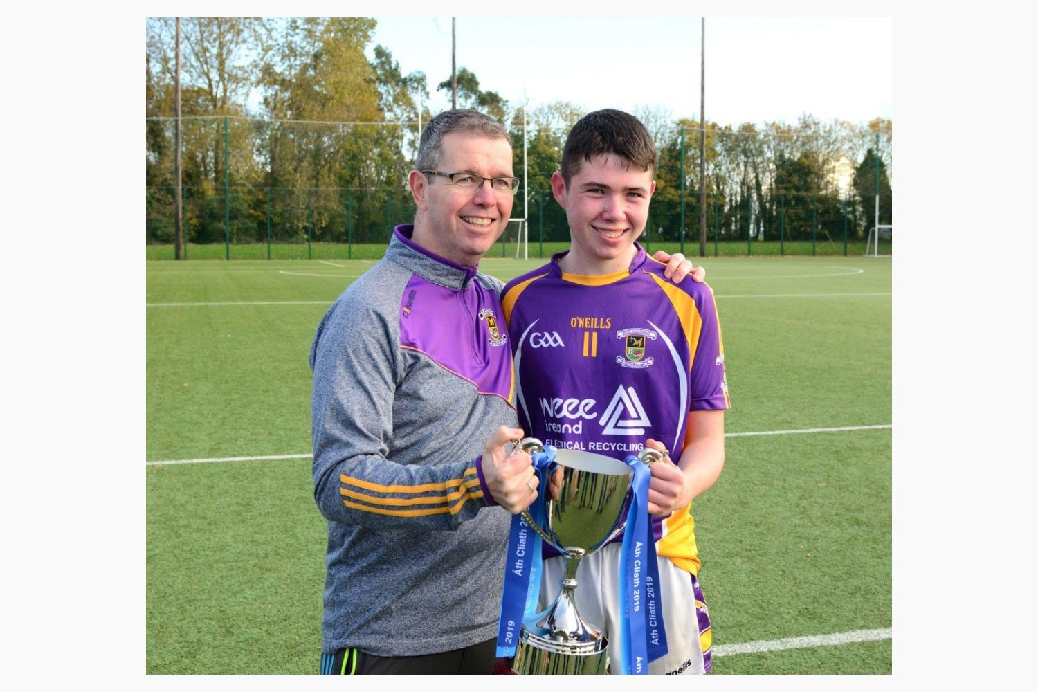 Minor E County Football Final Championship Win Kilmacud Crokes Versus St Patricks- Well Done Crokes