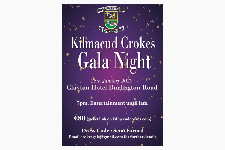 Kilmacud Crokes Gala Ball Saturday January 25th