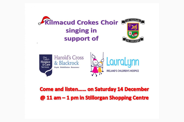 Kilmacud Crokes Choir December 14th in