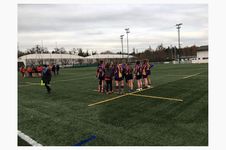 Ladies Intermediate Team Visit France to Play in Paris Gaels Tournament
