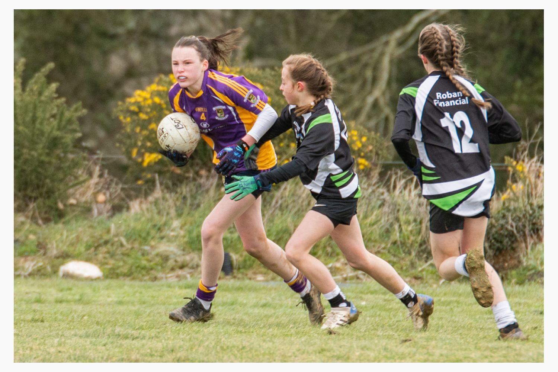 Under14 Ladies Football On Tour !!