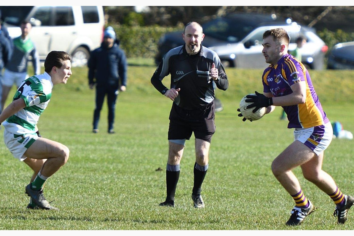 2nd football team lose out to Round Towers in their opening league game