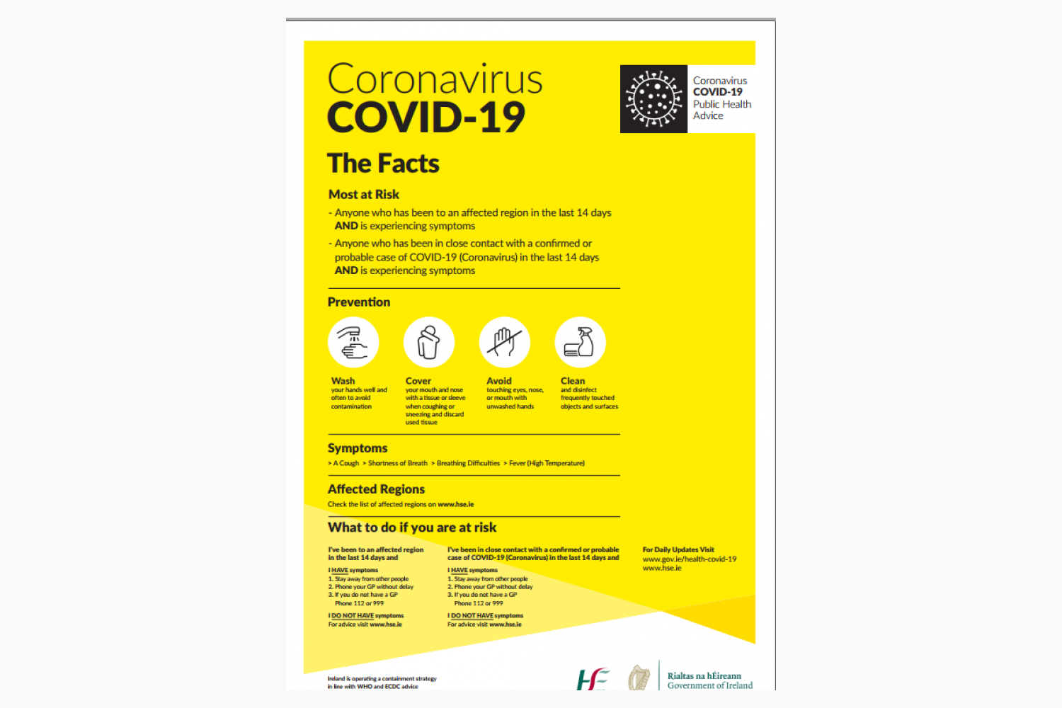 Covid-19 Virus Guidelines