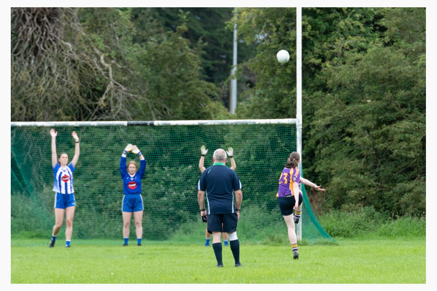 KCC Junior team ve Ballyboden C in the Adult League Cup Division 5.