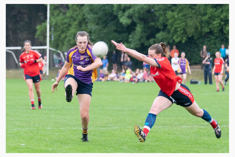Kilmacud CRokes Versus Fingallians Ladies Senior Football Championship