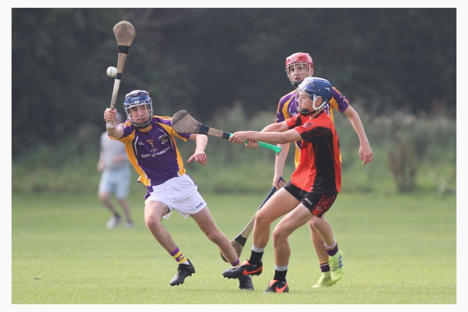U16A hurlers secure win over Balinteer St Johns