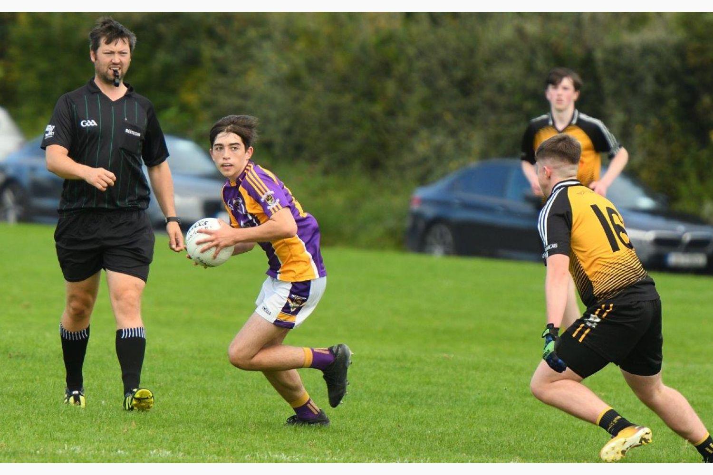 Minor D Football Championship group 2 Kilmacud Crokes Versus St Marks