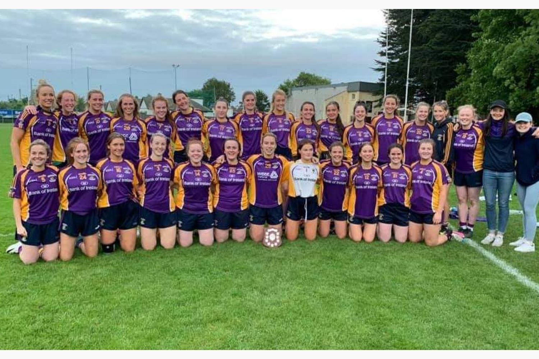 Ladies Junior B Shield Win