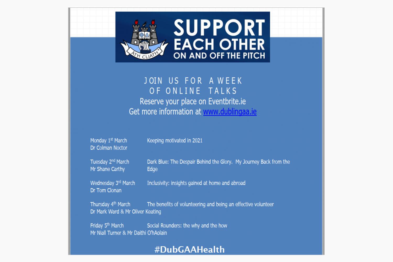 Dubs GAA Health Week