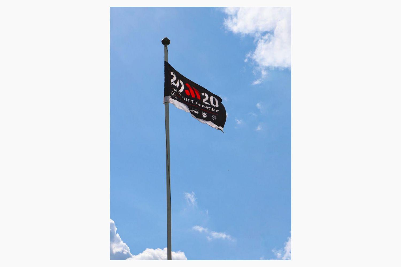 Crokes Beyond 20x20 Flag Raising