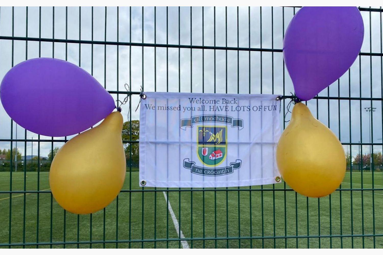 U10's Ladies Football & Camogie - Back Where We Belong