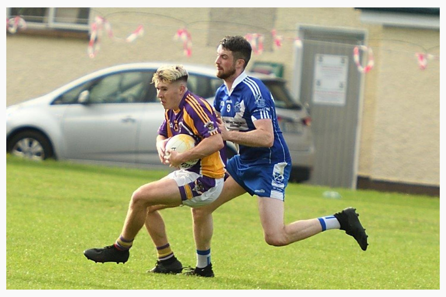 Go Ahead Adult Football League Division Two South  Kilmacud CRokes Versus St Annes