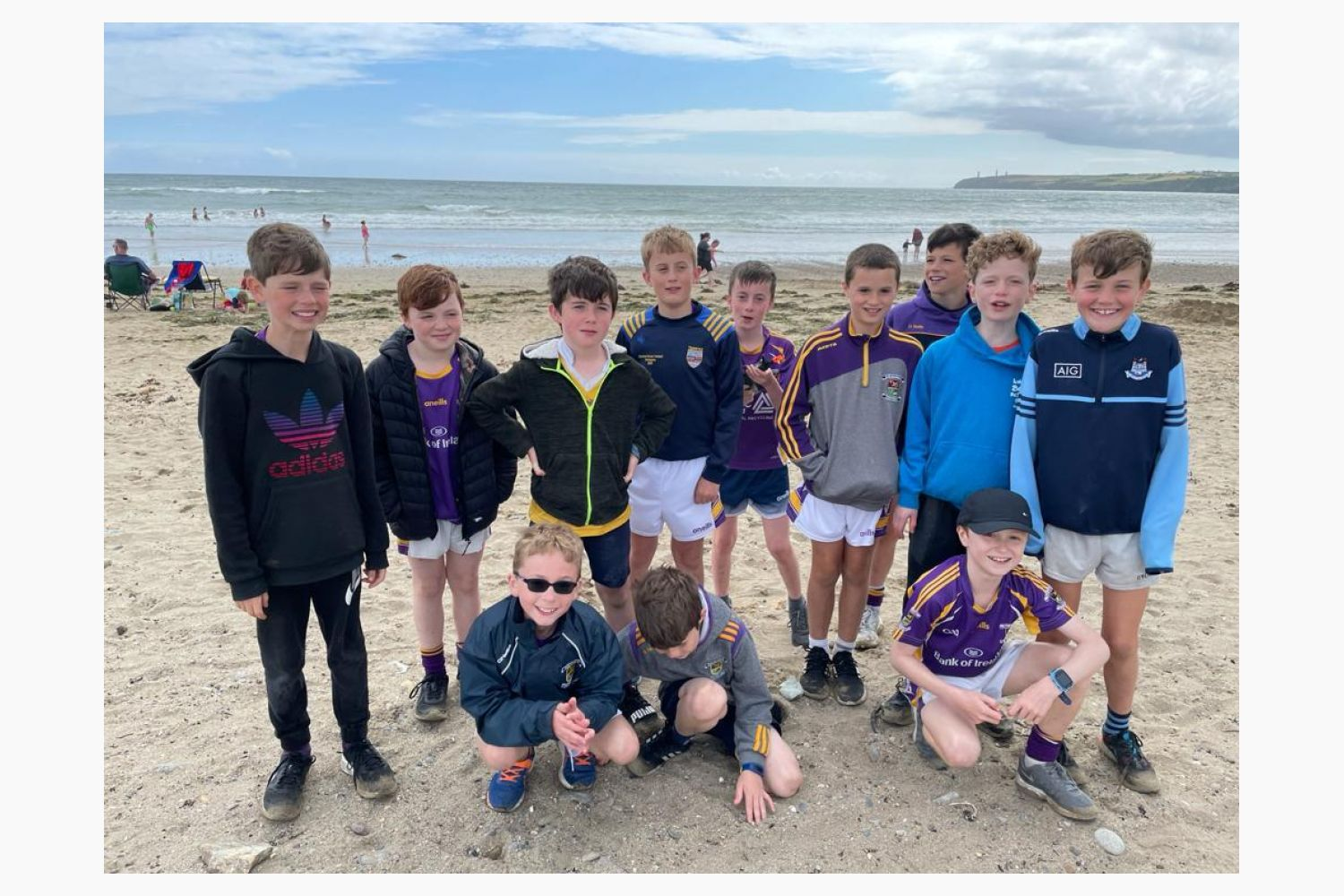 Under 11 Hurlers Continue On Tour  Waterford - Ballygunner and Tramore