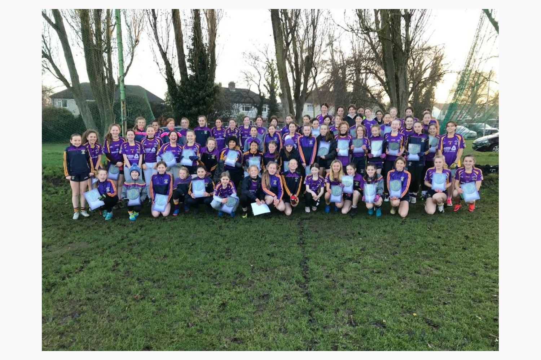 Under 13 Team Spotlight - Ladies Football
