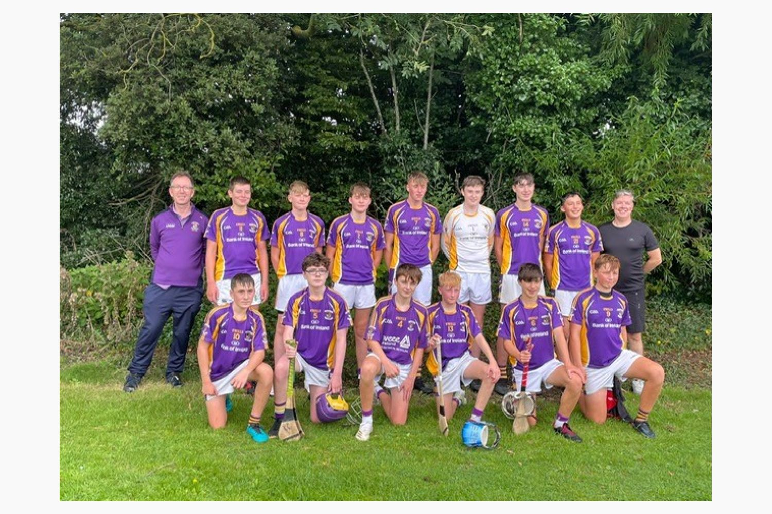 GREAT DOUBLE LEAGUE VICTORIES FOR U15A & B TEAMS