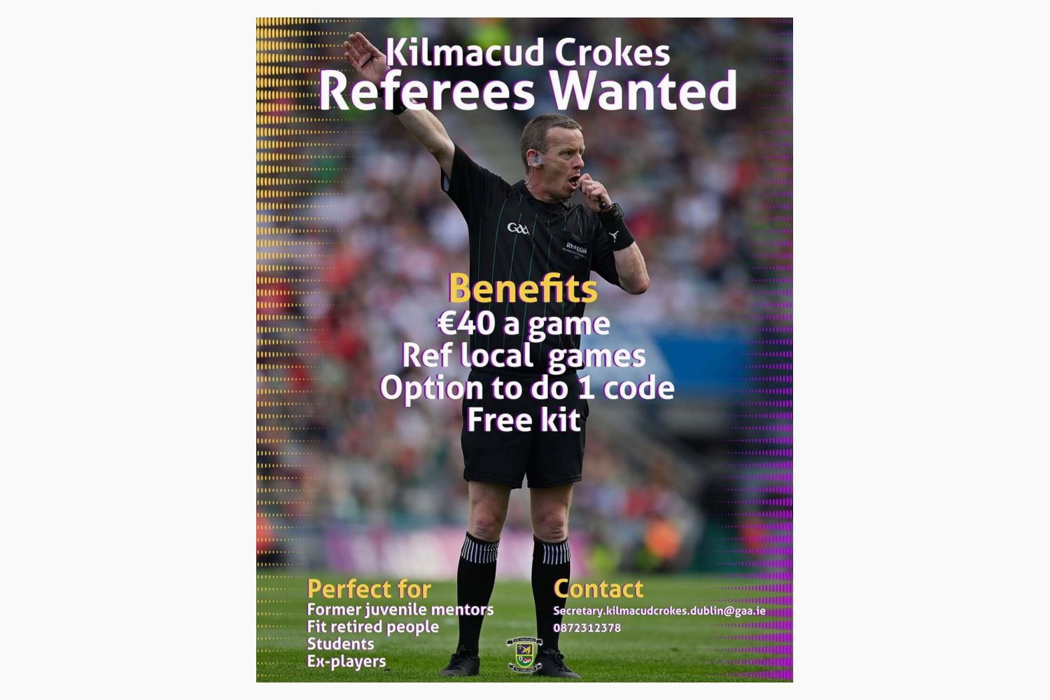 Referees Wanted!