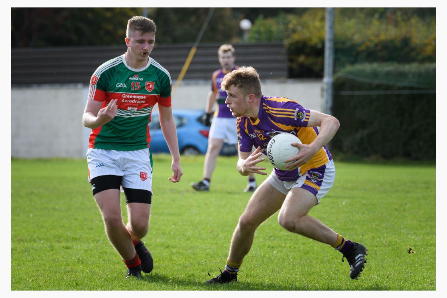 Go Ahead Junior 6 South All County Football Championship G3  Kilmacud Crokes Versus St Finians