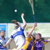 MHL1 action v St. Vincents (photo by Diarmuid O Gallchobhair)