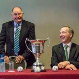 Dublin Co Board Chairman Sean Shanley and Applegrren's Paul Lynch