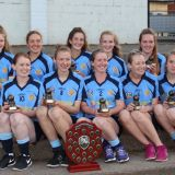 Gailltír of Waterford win the the Sean Flynn Shield final at the SE Systems Kilmacud Crokes All-Ireland Sevens
