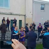 Senior Camogie Team beat Faughs after replay to win Senior 3 Championship Final