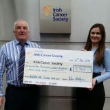 Kevin Mulligan CRokes Club Welfare Officer and Sinead Gillespie from ICS