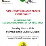 Kick Start Kilmacud Crokes Club / Community Fun Run / Walk March 12th 2:30pm