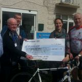 Paddy's Day Cycle Raised Valuable Funds for  Laura Lynn