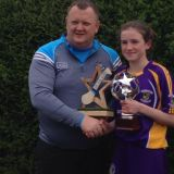 Róisín Ní Chathasaigh wins 2017 Feile Skills Competition