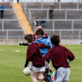 U12 Footballers Play at Half time in All Ireland U21 Football Final