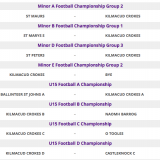 Championship Games this weekend