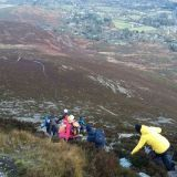 Kickstart Hillwalkers enjoy a sweet (sorry) walk up Great Sugarloaf