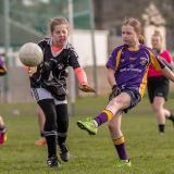 Kilmacud Under 12 Ladies In Action